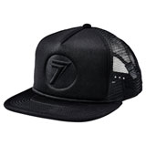 Seven Stamp It Snapback Hat Black