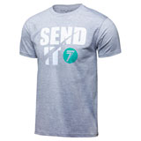 Seven Send-It T-Shirt Heather Grey