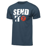 Seven Send-It T-Shirt Indigo Blue