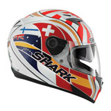 Shark S700s Zarco Replica Motorcycle Helmet