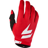 Shift WHIT3 Air Gloves Red