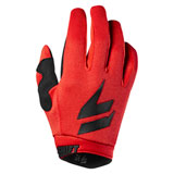 Shift Youth WHIT3 Air Gloves Black/Red