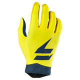 Shift 3LACK Air Gloves 2019 Yellow/Navy