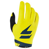 Shift WHIT3 Air Gloves 2019 Yellow/Navy