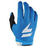 Shift WHIT3 Air Gloves Blue/White
