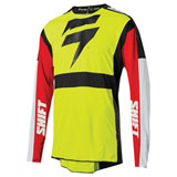Shift 3LACK Race 2 Jersey Flo Yellow