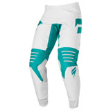 Shift 3LACK Race 1 Pants White/Green