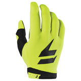 Shift Youth WHIT3 Air Gloves Flo Yellow