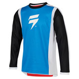 Shift Youth WHIT3 Race 2 Jersey Red/White/Blue
