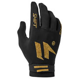 Shift 3LACK Label Invisible Gloves Black/Gold