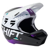 Shift WHIT3 UV Helmet White/Ultraviolet