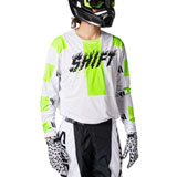 Shift 3LACK Label Flame Jersey White