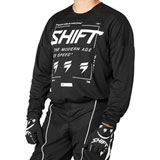 Shift WHIT3 Label Bliss Jersey Black/White
