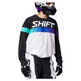 Shift WHIT3 Label Ultra Jersey White/Ultraviolet