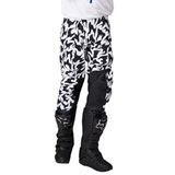 Shift 3LUE Label Flame Pants White/Black