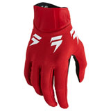 Shift Youth WHIT3 Label TRAC Gloves Red