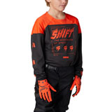 Shift Youth WHIT3 Label Flame Jersey Blood Orange