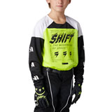 Shift Youth WHIT3 Label Flame Jersey Flo Yellow