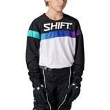 Shift Youth WHIT3 Label Ultra Jersey White/Ultraviolet