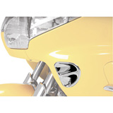 Show Chrome Accessories Fairing Air Intake Accent Grilles