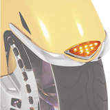 Show Chrome Accessories L.E.D. Front Fender Medallion