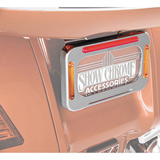 Show Chrome Accessories L.E.D. License Plate Holder
