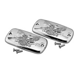 Show Chrome Accessories Master Cylinder Free Spirit Covers