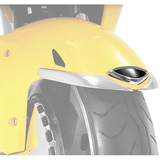 Show Chrome Accessories Medallion Series Front Fender Accent
