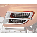 Show Chrome Accessories Side Fairing Accent Grille