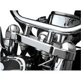 Show Chrome Accessories Domed Fork Cap Covers