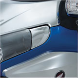 Show Chrome Accessories Headlight End Trim