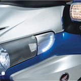 Show Chrome Accessories L.E.D. Headlight End Trim