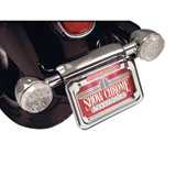 Show Chrome Accessories L.E.D. Raised License Plate Holder