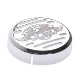 Show Chrome Accessories V-Twin Horn Cover
