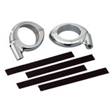 Show Chrome Accessories Two Piece Fork Clamps