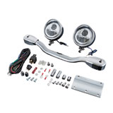 Show Chrome Accessories Elliptical LED Driving Light Kit