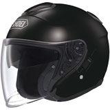 Shoei J-Cruise Open-Face Helmet Black