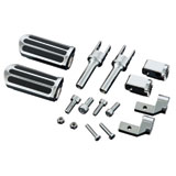 Show Chrome Accessories Highway Foot Pegs