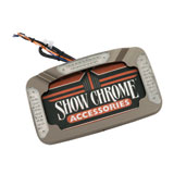 Show Chrome Accessories L.E.D. Contours License Plate Holder