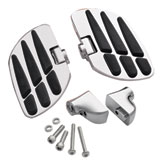 Show Chrome Accessories Vantage Passenger Floor Boards