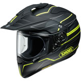 Shoei Hornet X2 Navigate Helmet Black/Yellow
