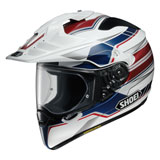 Shoei Hornet X2 Navigate Helmet Red/White