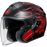 Shoei J-Cruise Reborn Helmet Black/Red