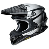 Shoei VFX-EVO Blazon Helmet Silver/Black