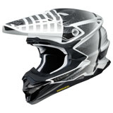 Shoei VFX-EVO Blazon Helmet White/Black