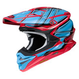 Shoei VFX-EVO Glaive Helmet Red