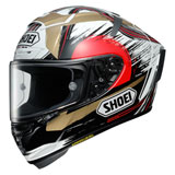 Shoei X-Fourteen Marquez Motegi 2 Helmet Black/White/Red