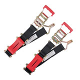 "ShockStrap 2"" Ratchet Tie Downs"