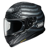 Shoei RF-1200 Dedicated Helmet Silver/Black