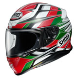 Shoei RF-1200 Rumpus Helmet Green